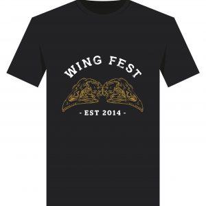Wing Fest Skulls T-Shirt Design