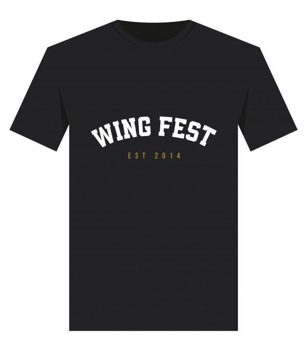 Wing Fest College T-Shirt Design