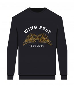 Introducing the limited edition HOT new Wing Fest merch!