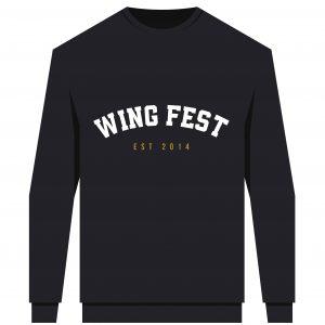 Wing Fest College Sweatshirt