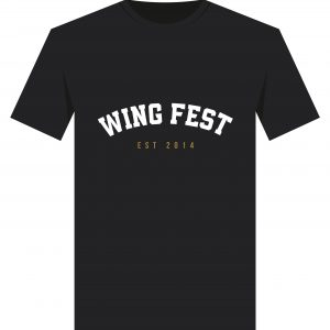 Wing Fest College T-Shirt Design